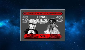 The Karate Kid. Johnny Lawrence VS Danny LaRusso Fridge Magnet